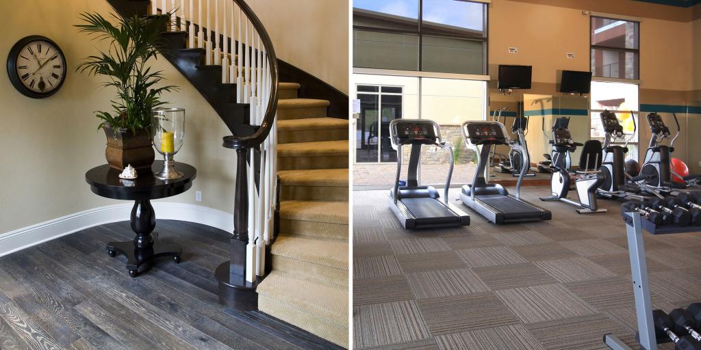 residential flooring, commercial flooring
