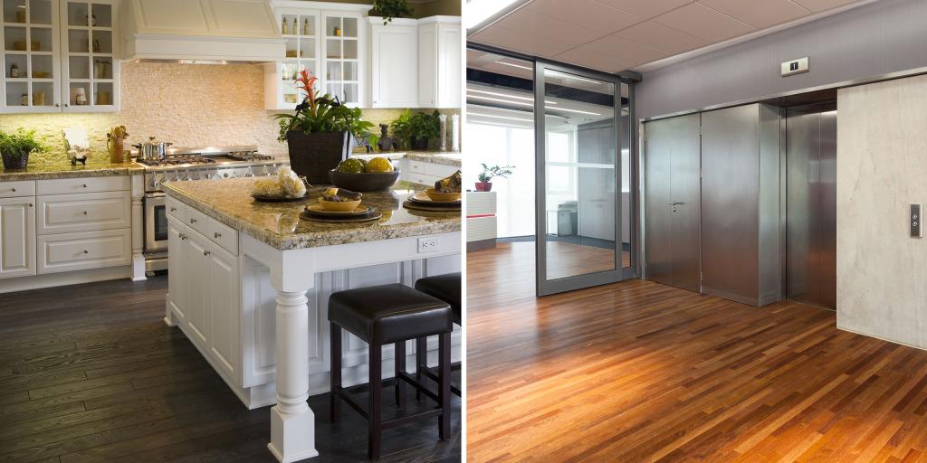 hardwood flooring, laminate flooring, floor installations