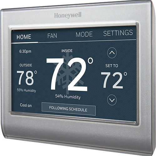 Hover Image to Zoom Wi-Fi Smart Color 7-Day Programmable Smart Thermostat