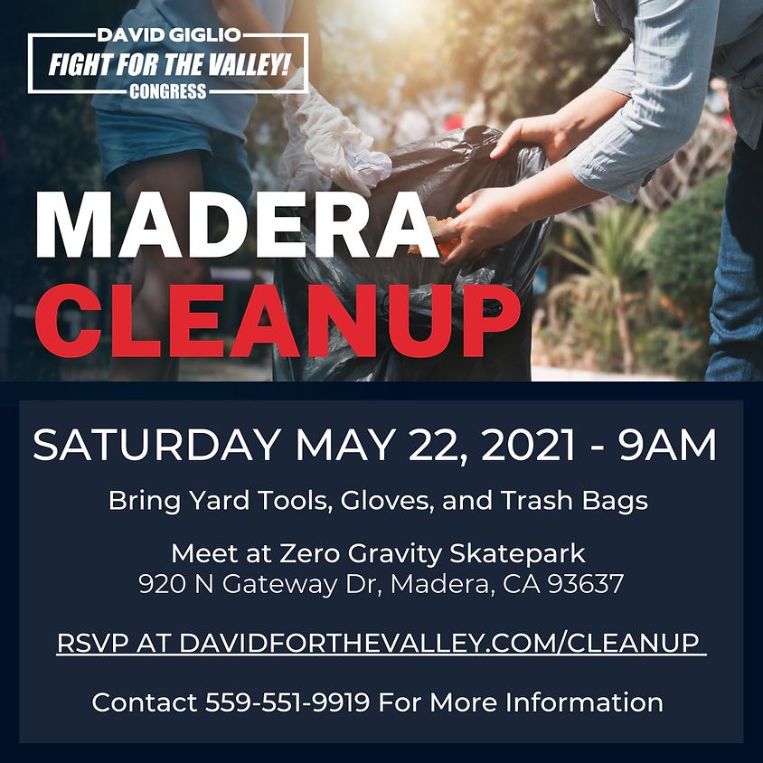 Madera Cleanup