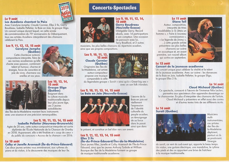 SEMAINE ACADIENNE CONCERTS-SPECTACLES_ed