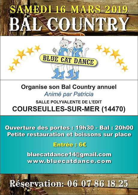 Bal Country Courseulles 14470 mars 2019