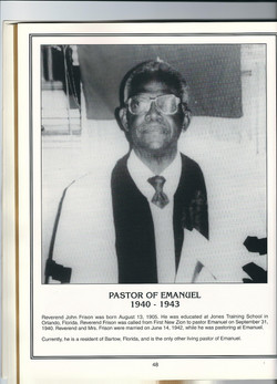 Pastor 1940-1943