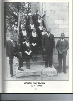 Usher Board No. 1 1938-1939