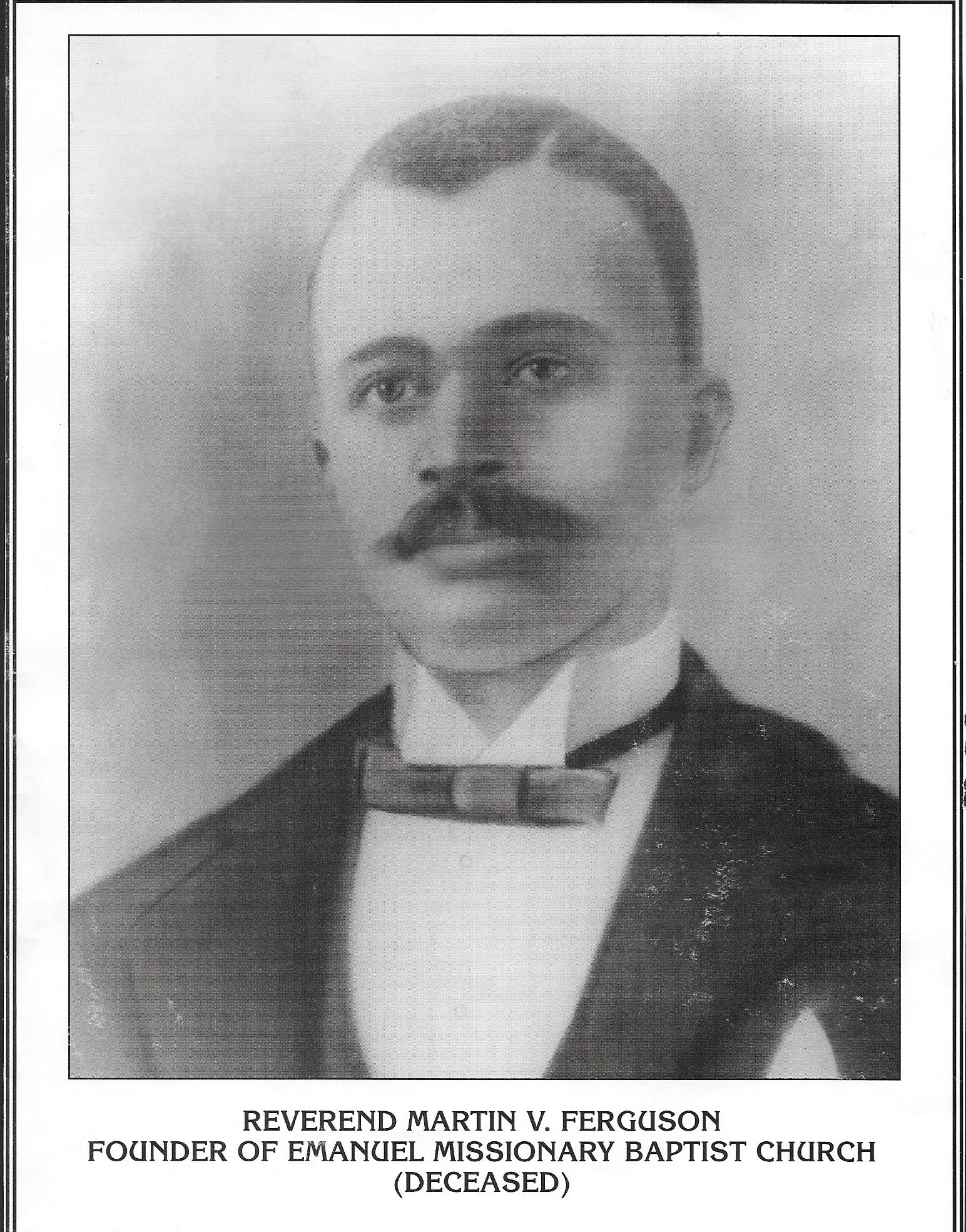 Rev. Ferguson Founder of Emanuel