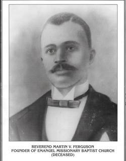 Rev. Ferguson Founder of Emanuel