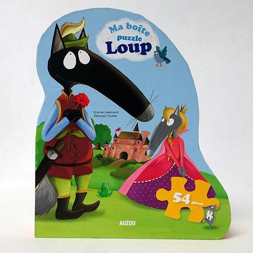 54 pcs - Ma boîte puzzle Loup - Contes et légendes