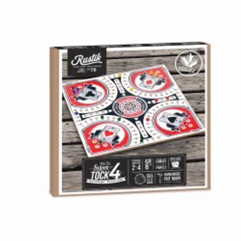 RUSTIK - Jeu de Tock 4 joueurs 15 pouces