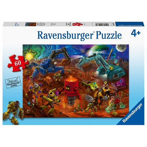 60 pcs - Ravensburger - Chantier Spatial