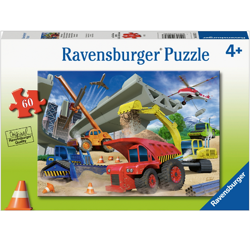 60 Pcs - Ravensburger - Camions de construction