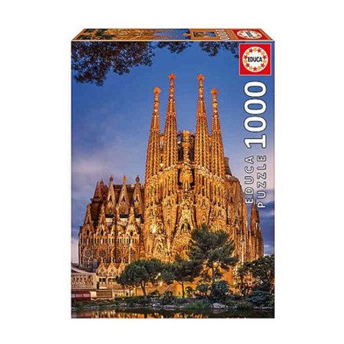 1000 pcs - Sagrada Familia - Educa