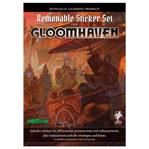 Gloomhaven Removable Stickers Set  (VA)