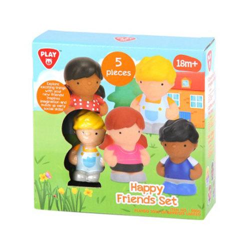 Happy Collection - Figurines Amis du monde