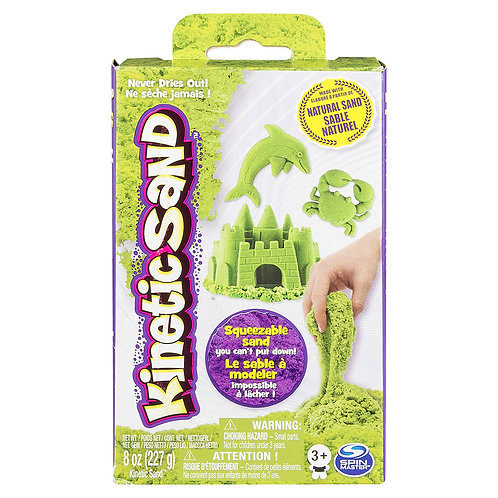 Kinetic Sand - 8oz Vert Fluo
