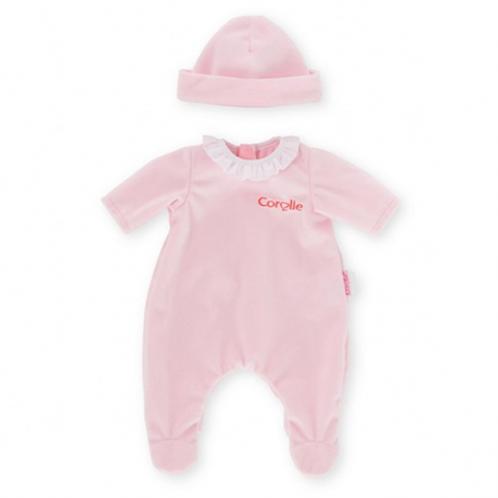 Corolle 14''- Pyjama rose pour poupon 14''- 36cm