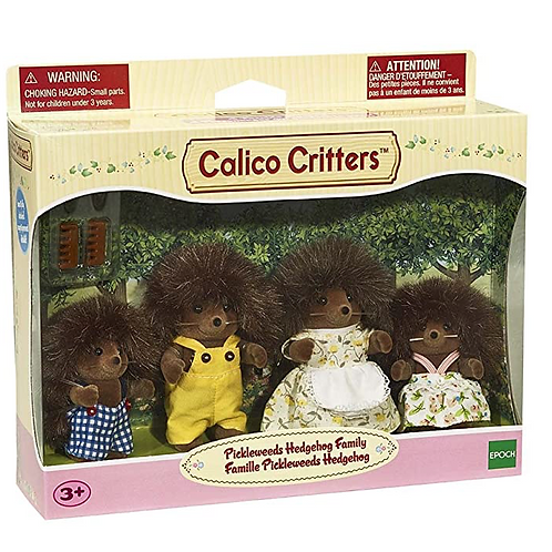 Calico Critters - Famille Pickleweeds Hedgehog