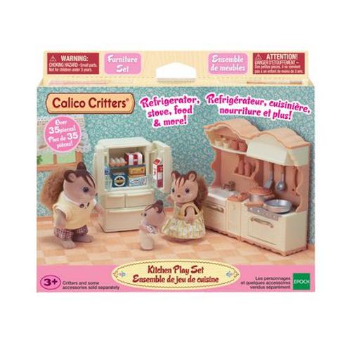 Calico Critters - Ensemble de jeu de cuisine