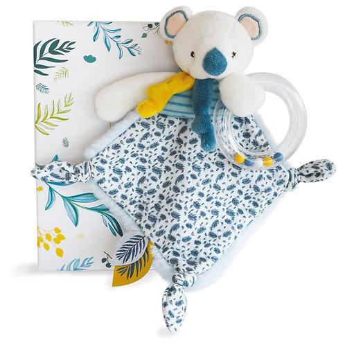 DD et cie - Yoca le Koala- Doudou hochet 22cm