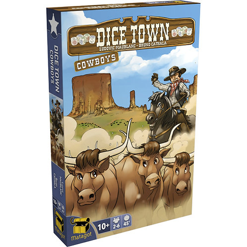 Dice Town - Extension Cowboys VF
