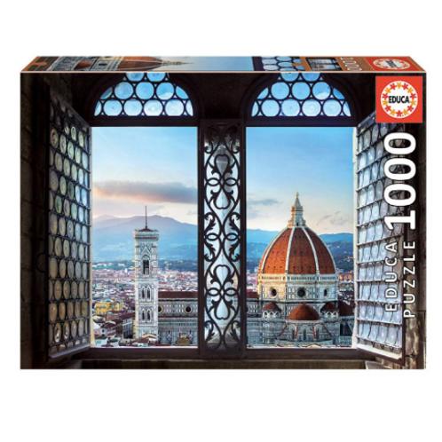 1000 pcs - Vue sur Florence
