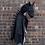 Thumbnail: Cape de dragon de nuit noir 5-6 ans