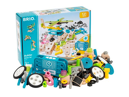 Brio -Builder motor set 121pcs