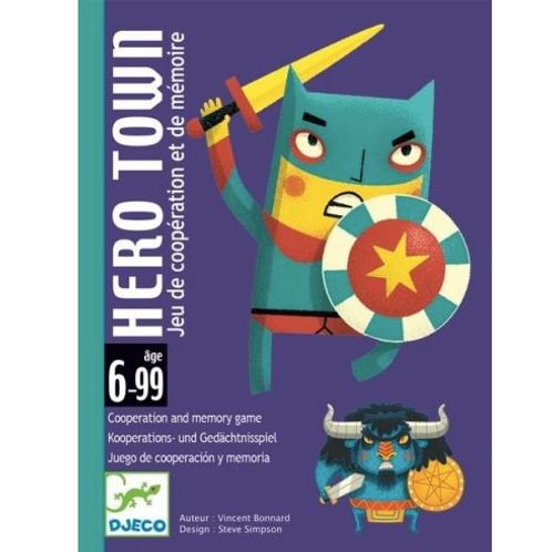 Djeco -Hero Town (Jeu de coopération et de mémoire)