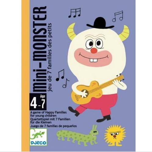 Djeco - Mini-Monster (Jeu des 7 familles des petits)
