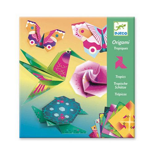 Djeco - Origami - Tropiques