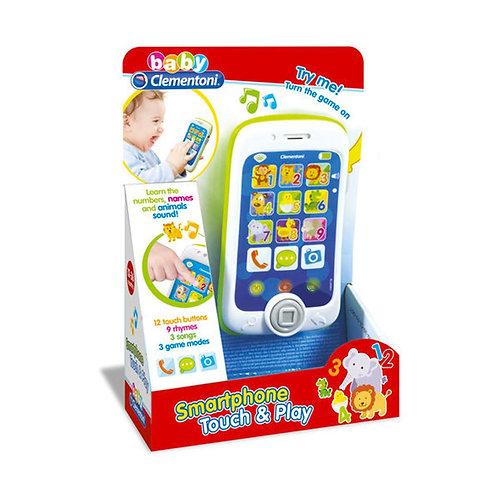 Baby Clementoni - Téléphone intelligent pour bébé (Multilingue)