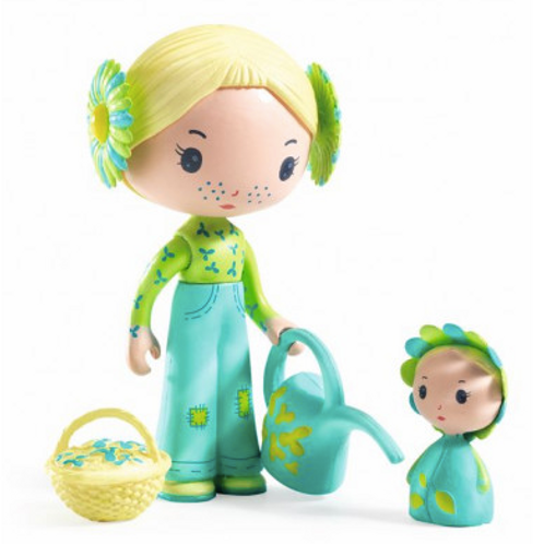 Djeco - Tinyly - Flore et Bloom 7.5cm