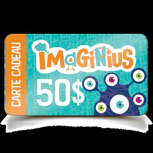 Carte Cadeau Imaginius