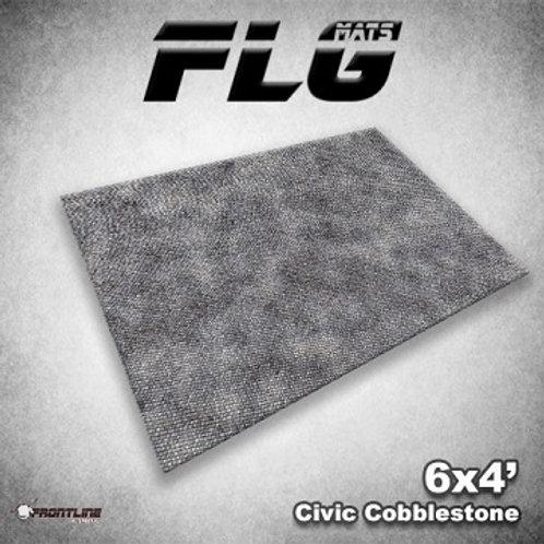 PLAYMAT - FLG Civic Cobblestone 6'x4'