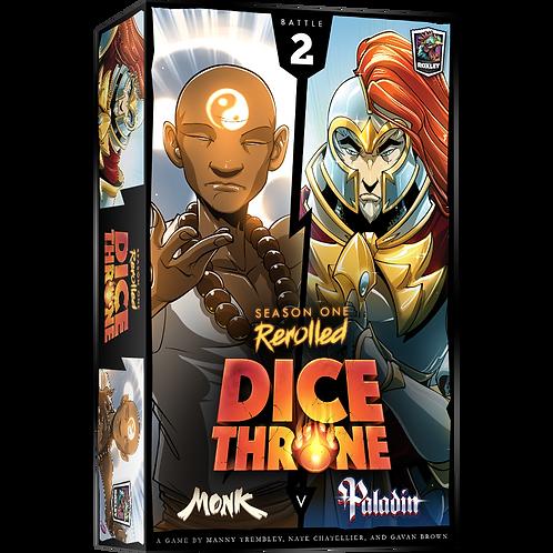 Dice Throne - Rerolled Season One : Box 2 Monk VS Paladin VA