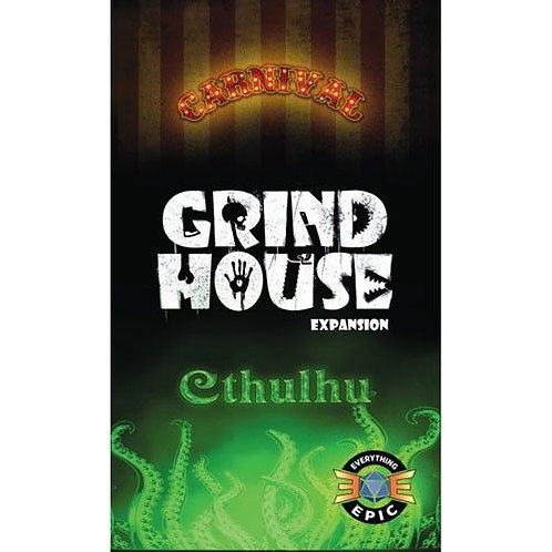 Grind house: Carnival and cthulhu expansion VA