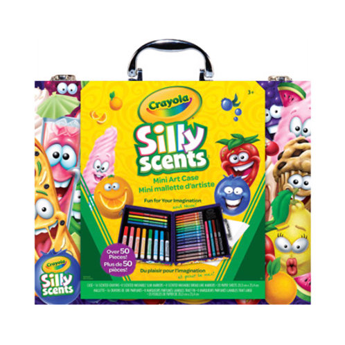 Crayola Silly Scents - Mini mallette d'artiste Inspiration