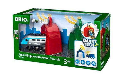 BRIO-Locomotive intelligente et portiques