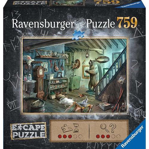 759 Pcs - Escape Puzzle - Cave terreur