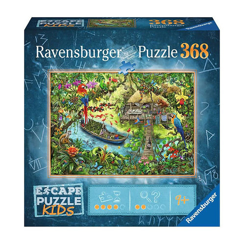386pcs - Escape Puzzle Kids - Expédition dans la jungle