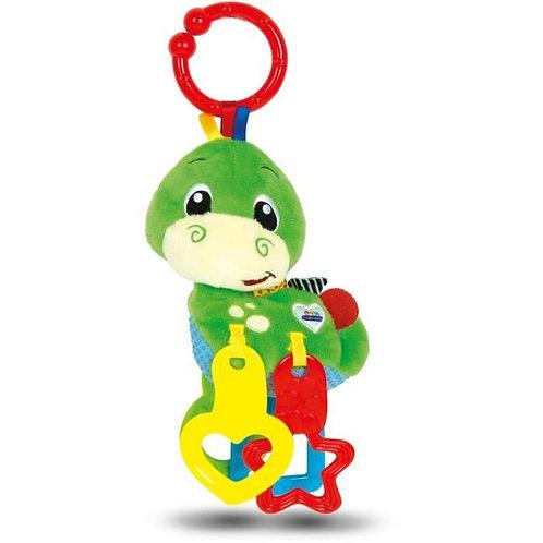 Baby Clementoni - Hochet peluche dinosaure