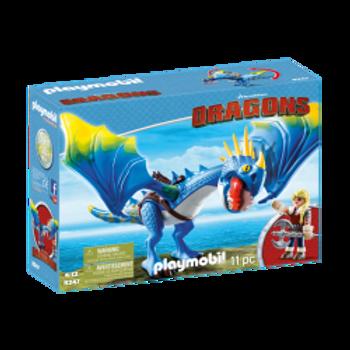 PLAYMOBIL - Dragons - Astrid et Tempête