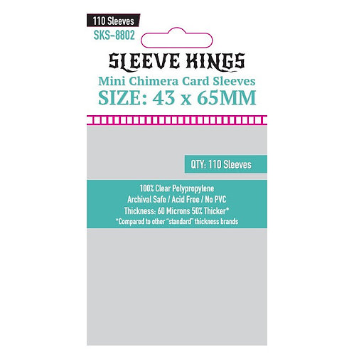 Sleeves - 43 x 65 - Sleeve Kings - (110)
