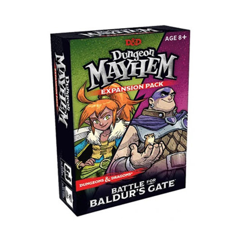 DnD Dungeon Mayhem - Battle for Baldur's Gate Expansion VA