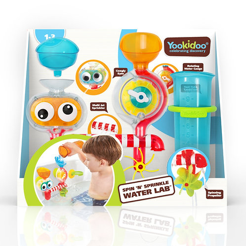 Yookidoo - Spin n Sprinkle water lab - Laboratoire pour le bain