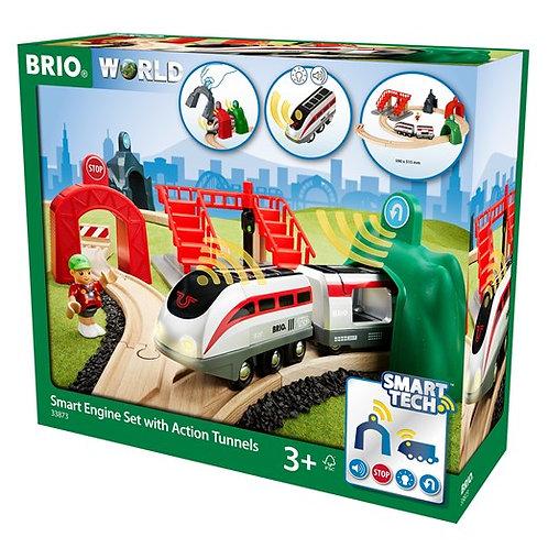 BRIO-Circuit de voyageurs & locomotive intelligente