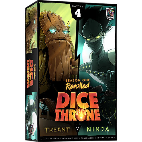 Dice Throne - Rerolled Season One : Box 4 Treant VS Ninja VA