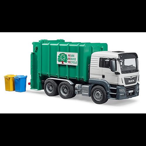 BRUDER - Camion à ordure MAN