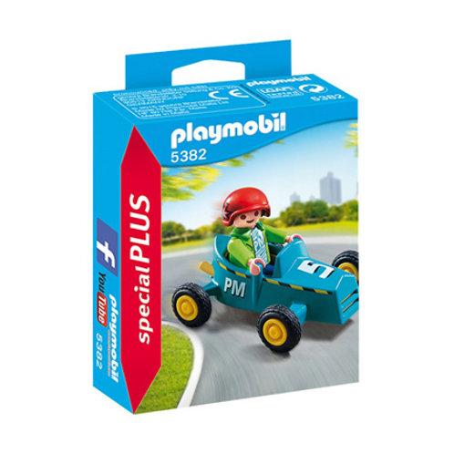 PLAYMOBIL - Special Plus - Enfant avec kart