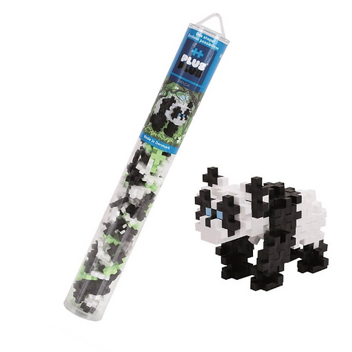 Plus Plus - Tube 70 pcs - Panda