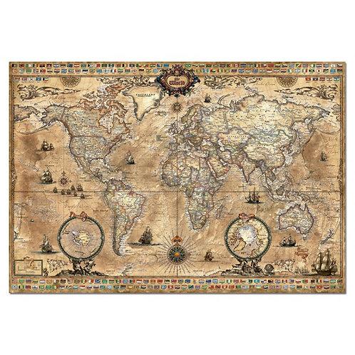 1000 pcs - Ancienne carte du monde - Educa